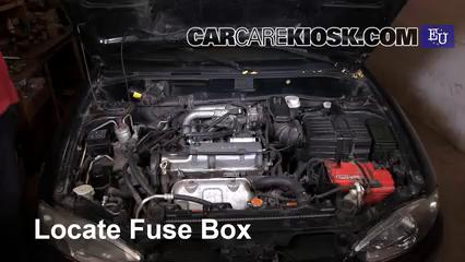 Replace a Fuse: 1995-2003 Mitsubishi Colt - 2003 Mitsubishi Colt GL 1.3L 4  Cyl.CarCareKiosk