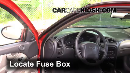 Interior Fuse Box Location: 1999-2004 Oldsmobile Alero ... on