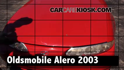 2003 Oldsmobile Alero GL 2.2L 4 Cyl. Coupe (2 Door) Review