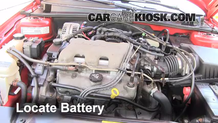 2003 Pontiac Grand Am SE1 3.4L V6 Sedan %284 Door%29%2FBattery Locate Part 1 battery replacement 1999 2005 pontiac grand am 2003 pontiac 2001 Grand AM SE at eliteediting.co