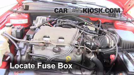 replace a fuse 1999 2005 pontiac grand am 2003 pontiac grand am grand am fuse box  Grand AM Hood Grand AM Frame F350 Fuse Box