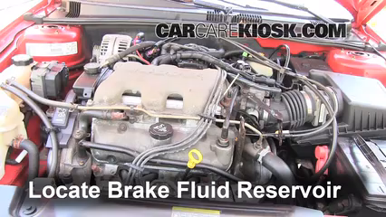 2003 Pontiac Grand Am SE1 3.4L V6 Sedan (4 Door) Brake Fluid