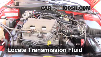 2003 Pontiac Grand Am SE1 3.4L V6 Sedan (4 Door) Transmission Fluid Fix Leaks