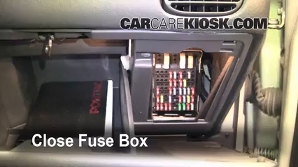 interior fuse box location: 1997-2003 pontiac grand prix - 2003 pontiac  grand prix gt 3 8l v6 sedan (4 door)