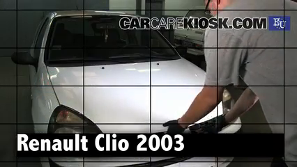 2003 Renault Clio dCi 1.5L 4 Cyl. Turbo Diesel Review