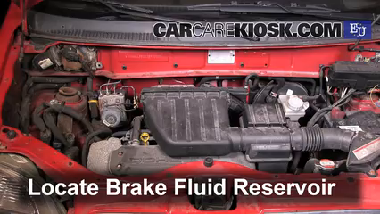 2003 Suzuki Wagon R 1.3L 4 Cyl. Brake Fluid