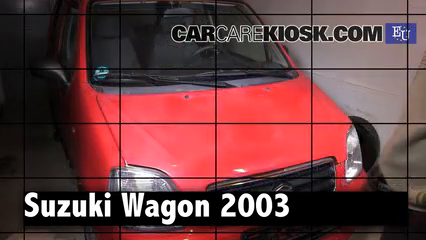 2003 Suzuki Wagon R 1.3L 4 Cyl. Review