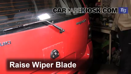 2003 Suzuki Wagon R 1.3L 4 Cyl. Windshield Wiper Blade (Rear)