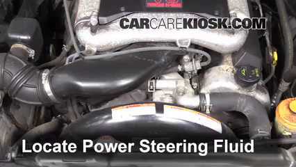 Fix Power Steering Leaks Suzuki Grand Vitara 19992005 2001. 2003 Suzuki Xl7 Touring 27l V6 Power Steering Fluid Add. Suzuki. Suzuki Vitara 1 6 Engine Diagram At Scoala.co