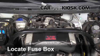 [DIAGRAM_1JK]  Replace a Fuse: 2002-2006 Suzuki XL-7 - 2003 Suzuki XL-7 Touring 2.7L V6 | 2002 Suzuki Xl7 Fuse Box Location |  | CarCareKiosk