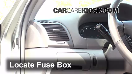 interior fuse box location 2002 2006 toyota camry 2002. Black Bedroom Furniture Sets. Home Design Ideas