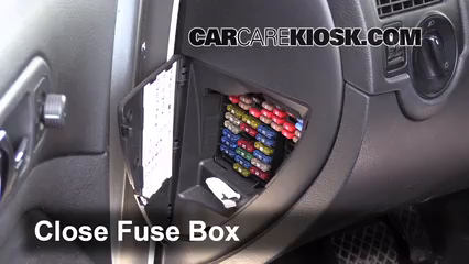 interior fuse box location   volkswagen golf