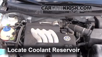 2003 Volkswagen Golf GL 2.0L 4 Cyl. (4 Door) Fluid Leaks Coolant (Antifreeze) (fix leaks)