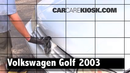 2003 Volkswagen Golf GL 2.0L 4 Cyl. (4 Door) Review