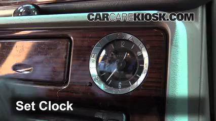 2003 Cadillac Escalade 6.0L V8 Clock