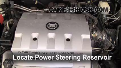 2003 Cadillac Seville SLS 4.6L V8 Líquido de dirección asistida