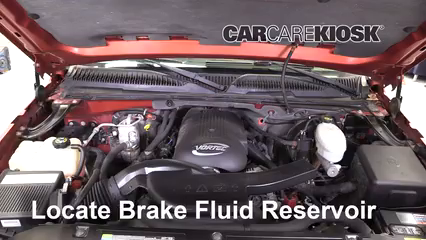 2005 Chevrolet Avalanche 1500 LS 5.3L V8 FlexFuel Brake Fluid