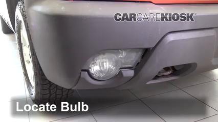 2003 Chevrolet Avalanche 1500 5.3L V8 Luces Luz de niebla (reemplazar foco)