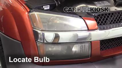 2003 Chevrolet Avalanche 1500 5.3L V8 Éclairage Feux de stationnement