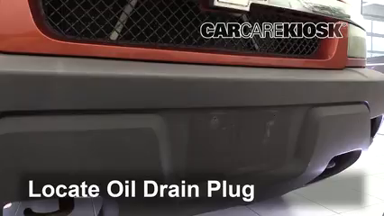 2003 Chevrolet Avalanche 1500 5.3L V8 Huile Changer l'huile et le filtre à huile