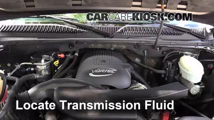 2003 Chevrolet Tahoe LS 5.3L V8 Liquide de transmission