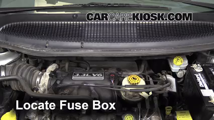 2003 Dodge Caravan SE 3.3L V6 FlexFuel Fuse (Engine) Replace