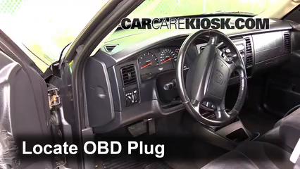 2003 Dodge Dakota SLT 4.7L V8 Crew Cab Pickup (4 Door) Lumière « Check engine » du moteur