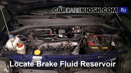 2003 Fiat Doblo Malibu 1.9L 4 Cyl. Diesel Brake Fluid