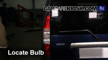 2003 Fiat Doblo Malibu 1.9L 4 Cyl. Diesel Lights