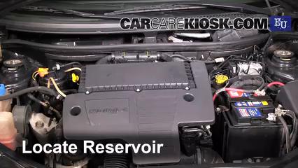 2003 Fiat Punto EX 1.3L 4 Cyl. Turbo Diesel Liquide essuie-glace Vérifier le niveau de liquide