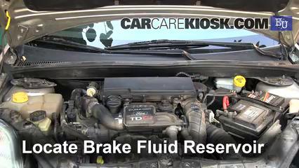 2003 Ford Fiesta TDCi 1.4L 4 Cyl. Turbo Diesel Brake Fluid