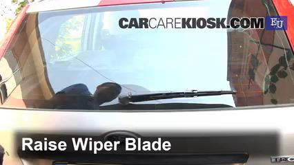 2003 Ford Fiesta TDCi 1.4L 4 Cyl. Turbo Diesel Windshield Wiper Blade (Rear)