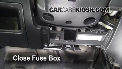 interior fuse box location: 2001-2005 honda civic - 2003 honda civic si  2.0l 4 cyl.  carcarekiosk