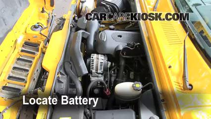 2003 Hummer H2 6.0L V8 Batterie