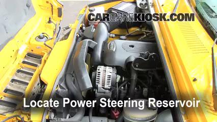 2003 Hummer H2 6.0L V8 Power Steering Fluid Check Fluid Level