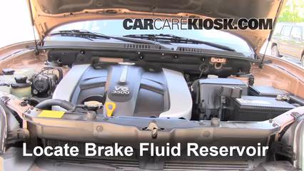 2003 Hyundai Santa Fe GLS 3.5L V6 Brake Fluid