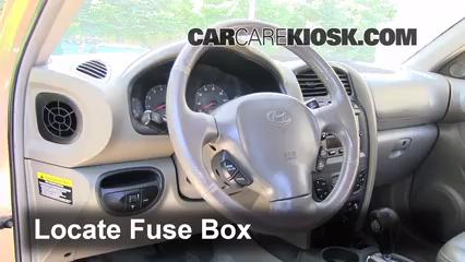 2003 Hyundai Santa Fe GLS 3.5L V6 Fuse (Interior)
