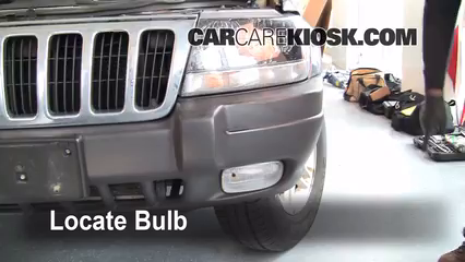 2003 Jeep Grand Cherokee Laredo 4.0L 6 Cyl. Lights Fog Light (replace bulb)