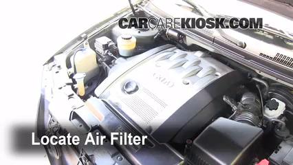 2003 Kia Sedona EX 3.5L V6 Air Filter (Engine)