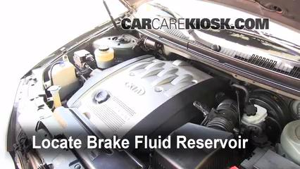 2003 Kia Sedona EX 3.5L V6 Brake Fluid