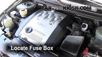 2003 Kia Sedona EX 3.5L V6 Fuse (Engine)