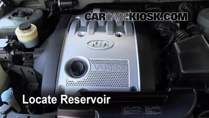 2003 Kia Sedona EX 3.5L V6 Windshield Washer Fluid