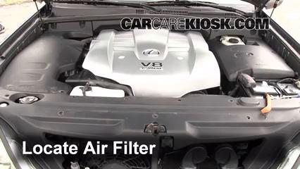 2003 Lexus GX470 4.7L V8 Air Filter (Engine)