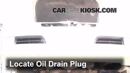 2003 Lexus GX470 4.7L V8 Oil Change Oil and Oil Filter