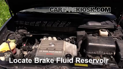 2003 Lexus RX300 3.0L V6 Brake Fluid