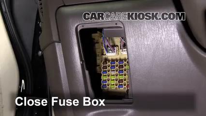 Interior Fuse Box Location 1999 2003 Lexus Rx300 2001 Lexus Rx300 3 0l V6