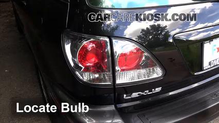 2003 Lexus RX300 3.0L V6 Lights