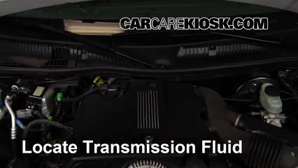 2003 Lincoln Town Car Cartier 4.6L V8 Pérdidas de líquido Líquido de transmisión (arreglar pérdidas)
