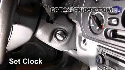 2003 Mitsubishi Colt GL 1.3L 4 Cyl. Clock