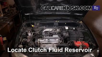 2003 Mitsubishi Colt GL 1.3L 4 Cyl. Transmission Fluid